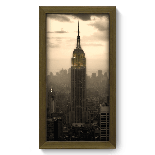 Quadro Decorativo - Empire State - 016qdmm
