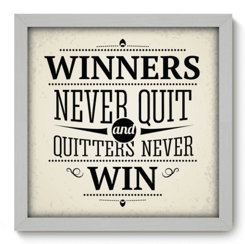 Quadro Decorativo - Winners - 019qdrb