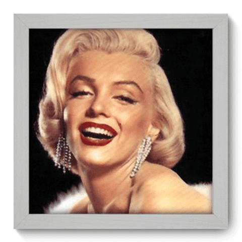 Quadro Decorativo - Marilyn Monroe - 020qdhb