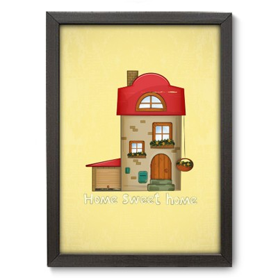 Poster Decorativo - Home Sweet Home - 022pst