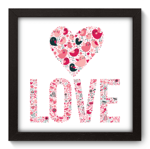 Quadro Decorativo - Love - 023qdop