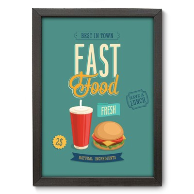 Poster Decorativo - Fast Food - 024pst
