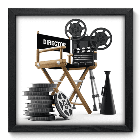 Quadro Decorativo - Cinema - 025qdhp