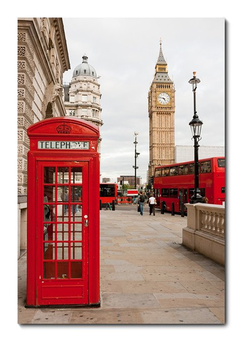 Placa Decorativa - Londres  - 0276plmk