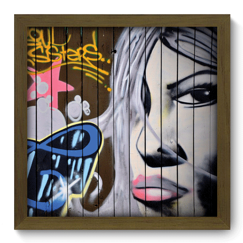 Quadro Decorativo - Street Art - 028qdum