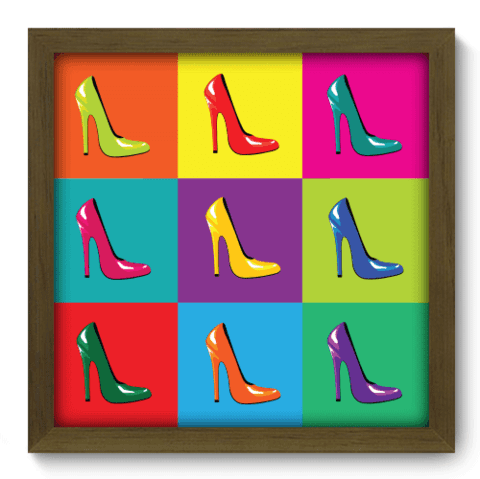 Quadro Decorativo - Shoes - 028qdvm