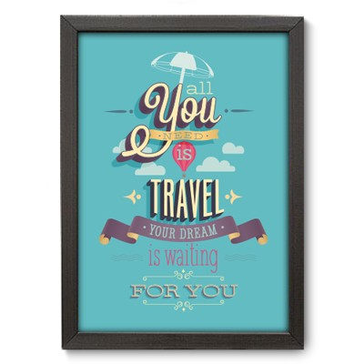 Poster Decorativo - Travel - 030pst
