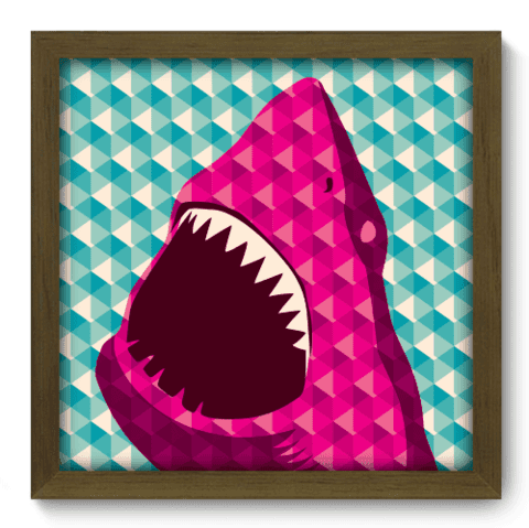 Quadro Decorativo - Shark - 030qdvm