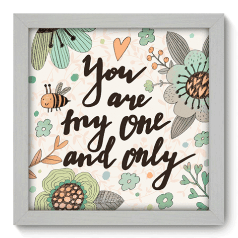Quadro Decorativo - My One - 035qdob