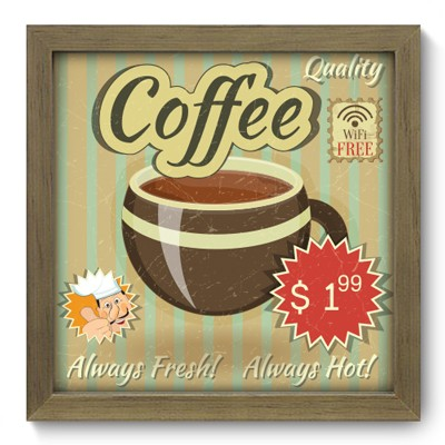 Quadro Decorativo - Coffee - 036qdcm