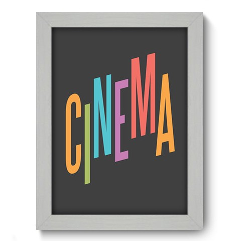 Quadro Decorativo - Cinema - 043qdhb