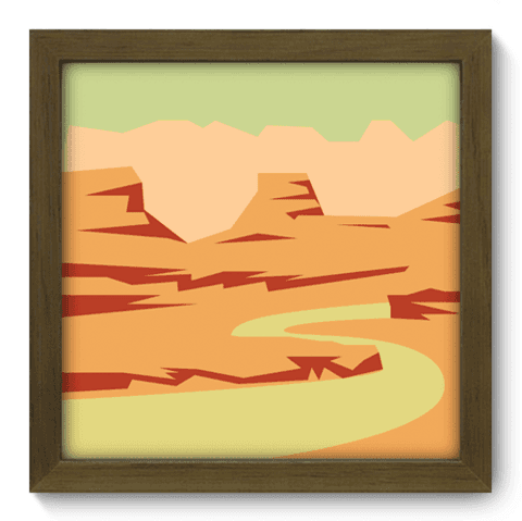 Quadro Decorativo - Canyon - 044qdpm