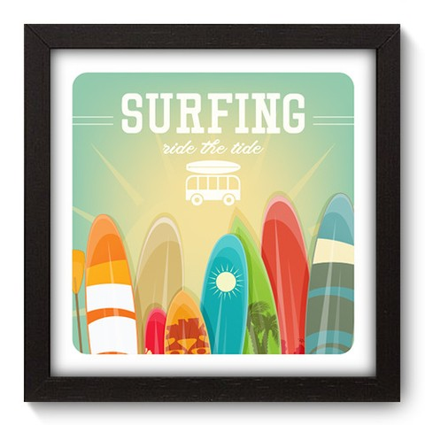 Quadro Decorativo - Surf - 046qdep