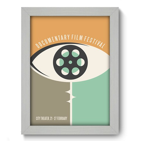 Quadro Decorativo - Cinema - 046qdhb