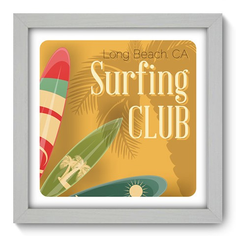 Quadro Decorativo - Surf - 047qdeb