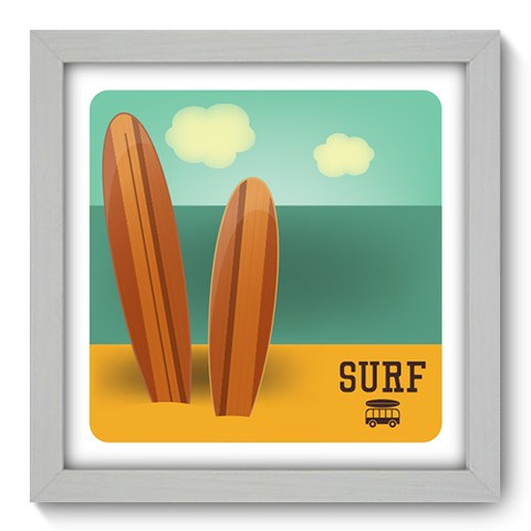 Quadro Decorativo - Surf - 048qdeb