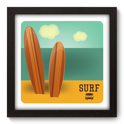 Quadro Decorativo - Surf - 048qdep