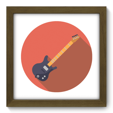 Quadro Decorativo - Guitarra - 048qdgm