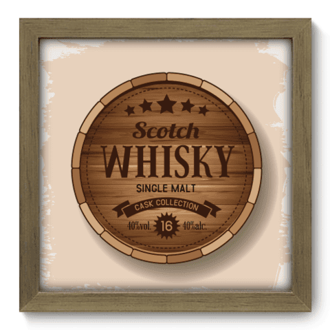 Quadro Decorativo - Whisky - 049qddm