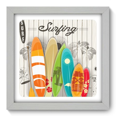 Quadro Decorativo - Surf - 049qdeb