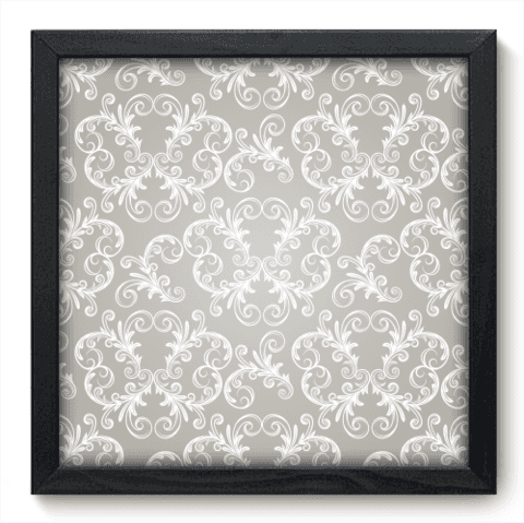 Quadro Decorativo - Damasco - 049qdvp