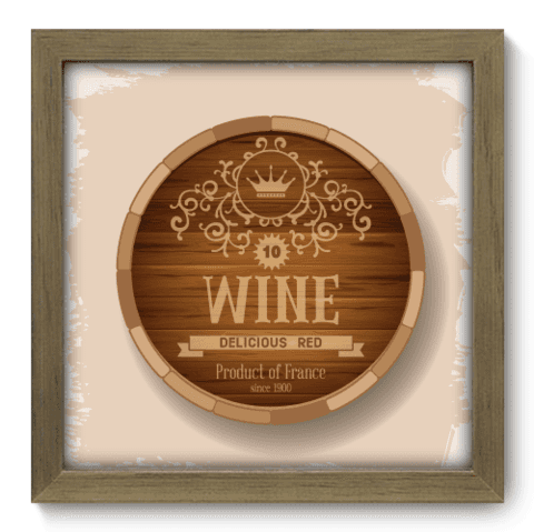 Quadro Decorativo - Wine - 050qddm