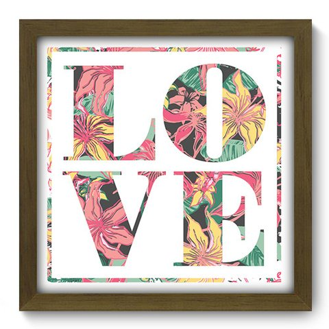Quadro Decorativo - Love - 050qdom