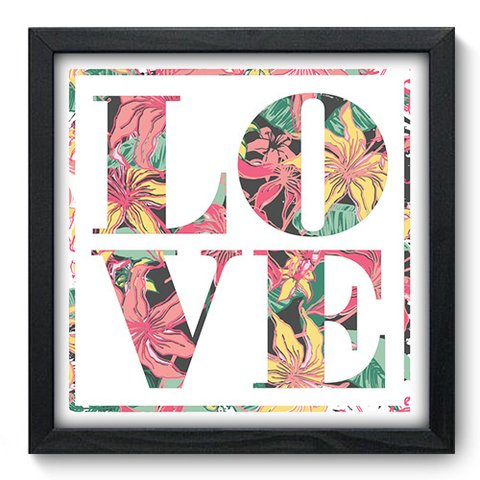 Quadro Decorativo - Love - 050qdop