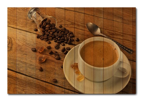 Placa Decorativa - Café - 0530plmk