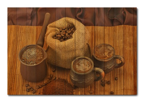 Placa Decorativa - Café - 0531plmk