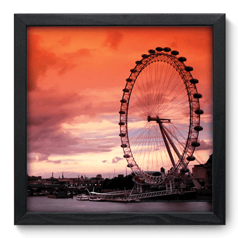 Quadro Decorativo - London Eye - 053qdmp