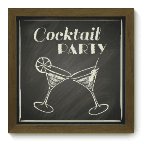 Quadro Decorativo - Cocktail - 054qdcm