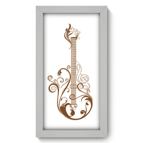 Quadro Decorativo - Guitarra - 054qdgb