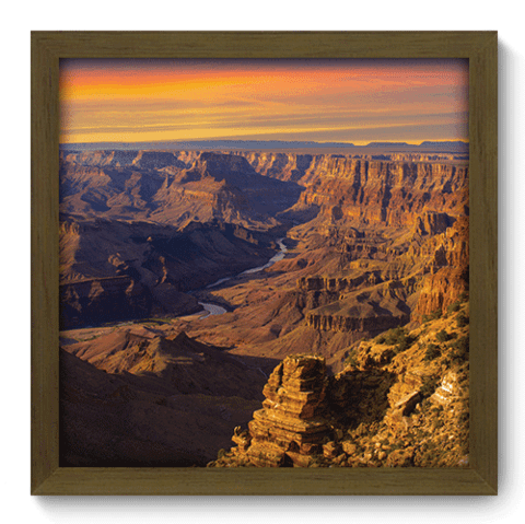 Quadro Decorativo - Grand Canyon - 054qdmm