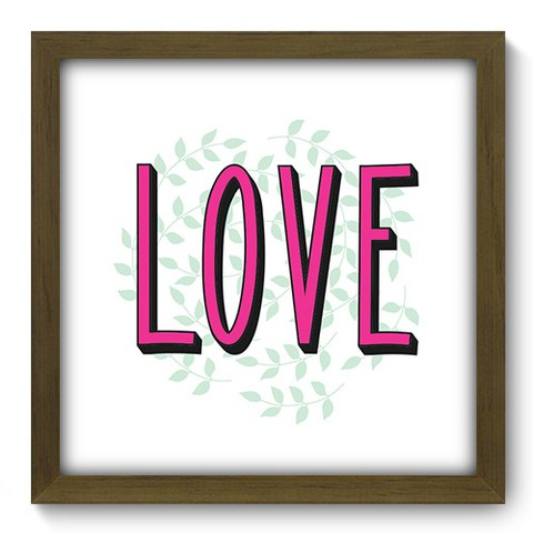 Quadro Decorativo - Love - 054qdom