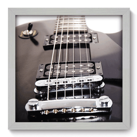 Quadro Decorativo - Guitarra - 059qdgb
