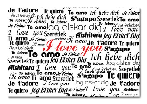 Placa Decorativa - Love - Amor - 0618plmk