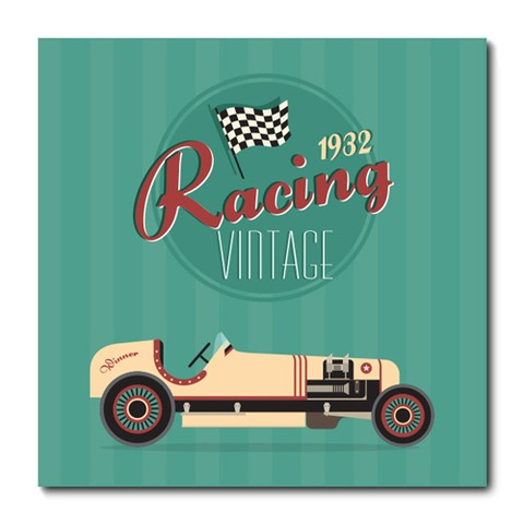 Placa Decorativa - Carro - Vintage - 0622plmk