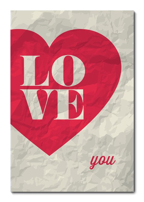 Placa Decorativa - Love - Amor - 0624plmk
