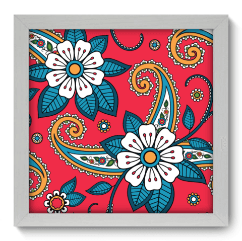 Quadro Decorativo - Indiano - 063qddb