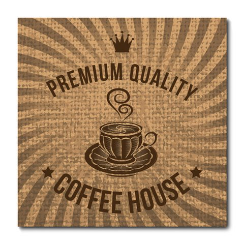 Placa Decorativa - Café - 0647plmk