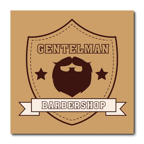 Placa Decorativa - Barber Shop - Barbearia - 0662plmk