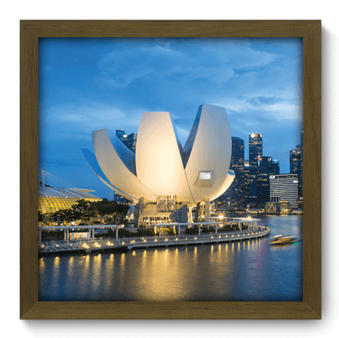 Quadro Decorativo - Marina Bay - 066qdmm