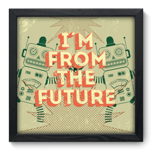Quadro Decorativo - Future - 066qdvp