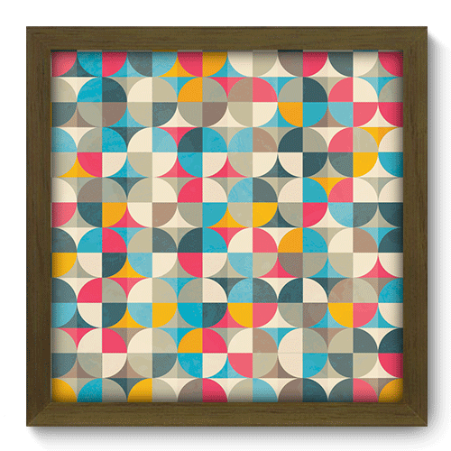 Quadro Decorativo - Abstrato - 067qdam