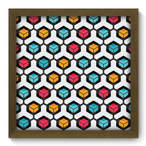 Quadro Decorativo - Abstrato - 069qdam