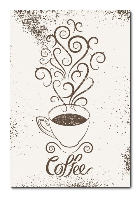 Placa Decorativa - Café - 0741plmk