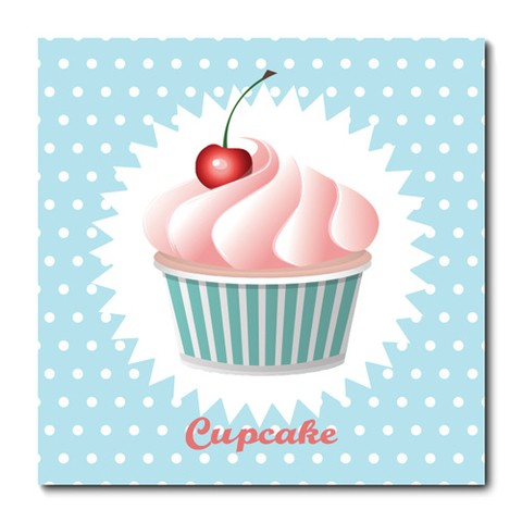Placa Decorativa - Cupcake - 0772plmk