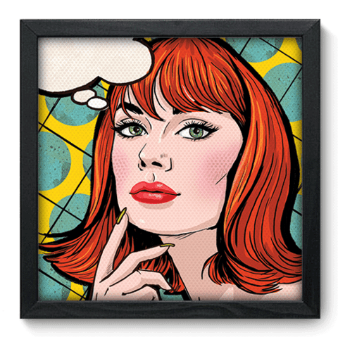 Quadro Decorativo - Pop Art - 077qdvp