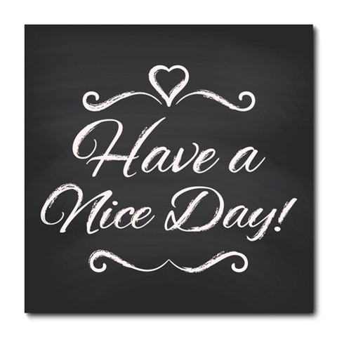 Placa Decorativa - Have a Nice Day  - 0792plmk